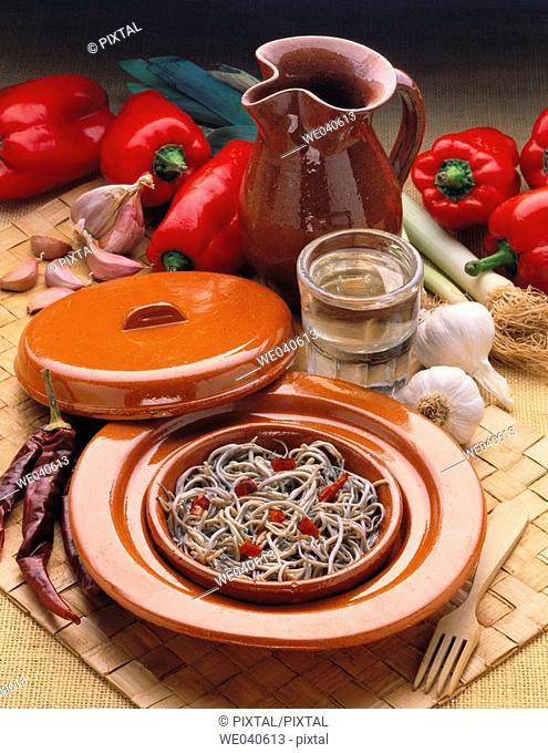 Elvers, Basque cuisine