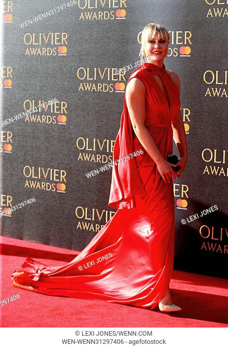 The Olivier Awards, Royal Albert Hall, London, UK Featuring: Camilla Rutherford Where: London, United Kingdom When: 10 Apr 2017 Credit: Lexi Jones/WENN