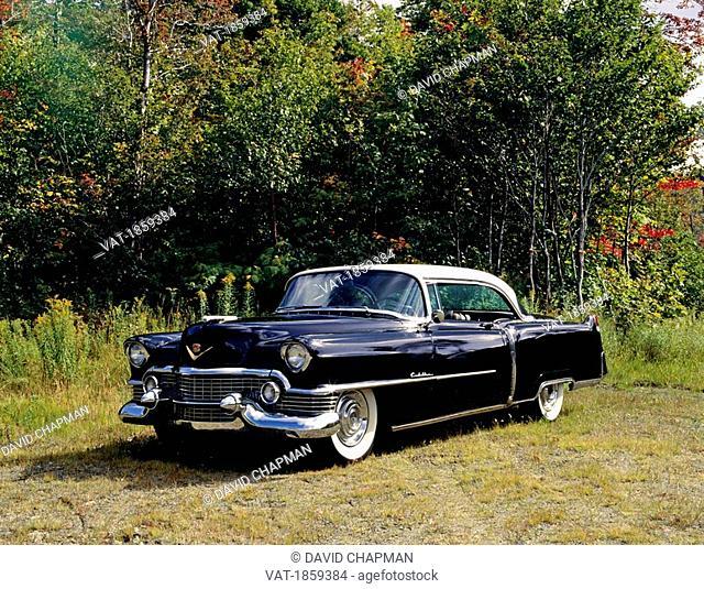 Vintage 1954 Cadillac Eldorado Series 62 car, Waterloo, Quebec, Canada