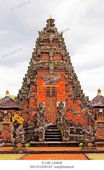 Island of Bali, ancient Indonesian temples