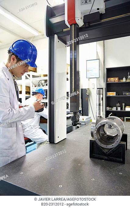 Laboratory measurement control. Design, manufacture and installation of machine tools. Bost Machine Tools Company. Asteasu. Gipuzkoa. Basque Country