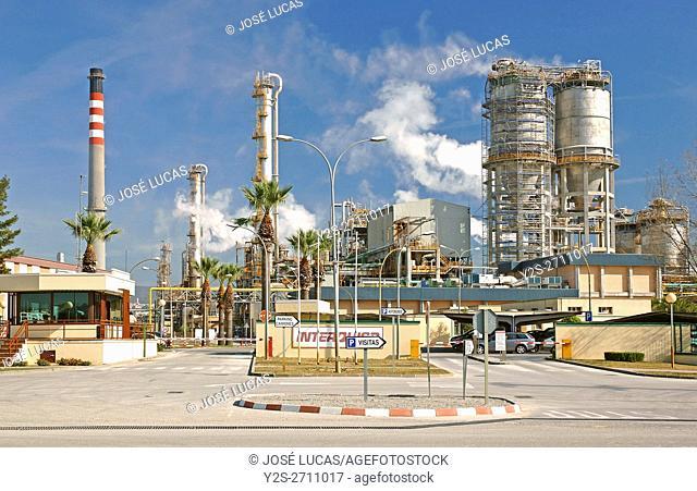 Gibraltar-San Roque Refinery, San Roque, Cadiz province, Region of Andalusia, Spain, Europe