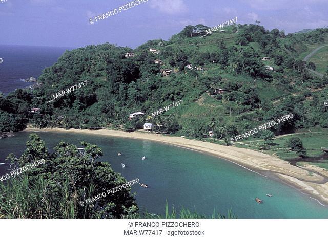 caribbean, antille, tobago island