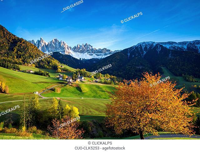 Val di Funes, Dolomites, Trentino-Alto Adige, Italy