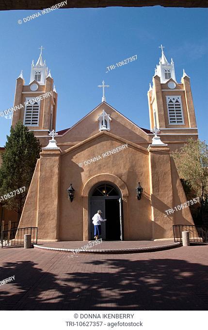 San Felipe De Neri Old Town Albuquerque New Mexico USA