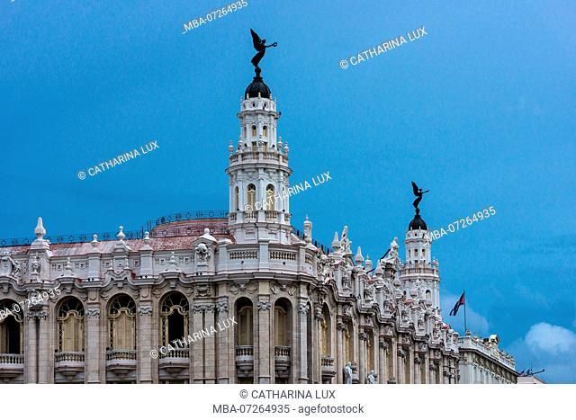 Cuba, Havana, La Habana, Gran Teatro, Neo-Baroque