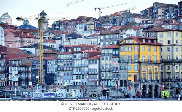 Portugal, Porto, Ribeira district. This district is one of the most important places when it comes to knowing the historic center of Porto