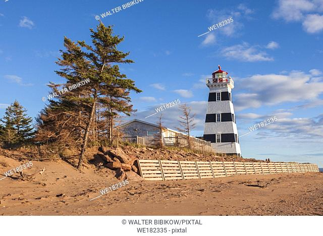 Canada, Prince Edward Island, West Point, West Point Lighthouse