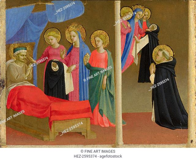 The Vision of the Dominican Habit, ca 1435. Found in the collection of the National Gallery, London
