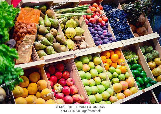 Fruits in a shop