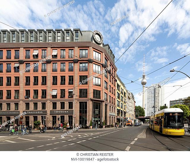 Hackescher Markt, Mitte, Berlin, Germany, Europe