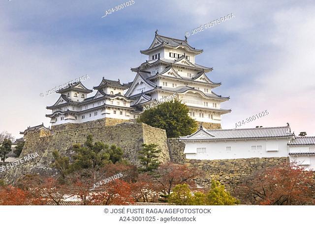 Japan , Himeji City, Himeji Castle , Shirozaki Castle