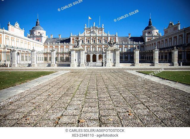 Spain, Madrid Province, Aranjuez, Royal Palace