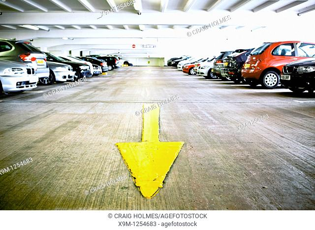 Car parking facilities, Birmingham, West Midlands, England, UK