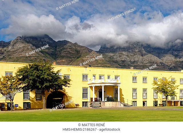 South Africa, Western Cape, Cape Town, City Bowl, Castle of Good Hope