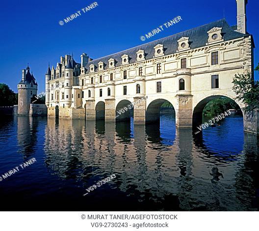 Chateau de Chenonceau. Chenonceaux, France