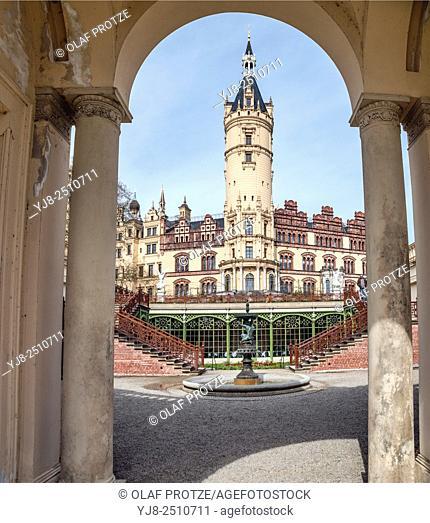 Schwerin Palace, Schwerin, Mecklenburg Western Pomerania, Germany