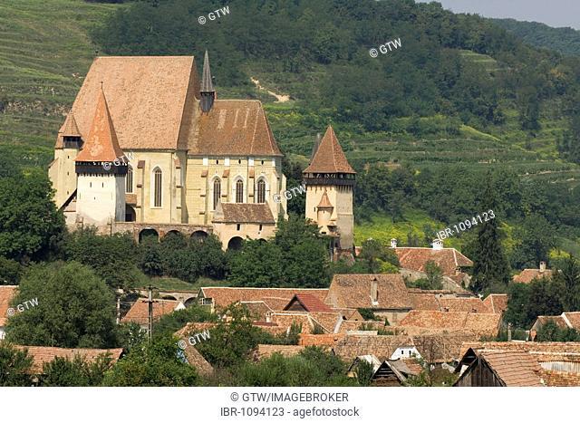 Fortified church Biertan, Unesco World Heritage Site, Transylvania, Rumania