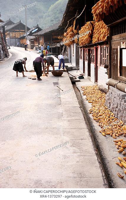 Shiqiao streets, Shiqiao, Guizhou, China