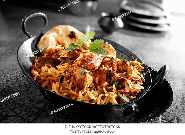 Indian Chicken Byriani