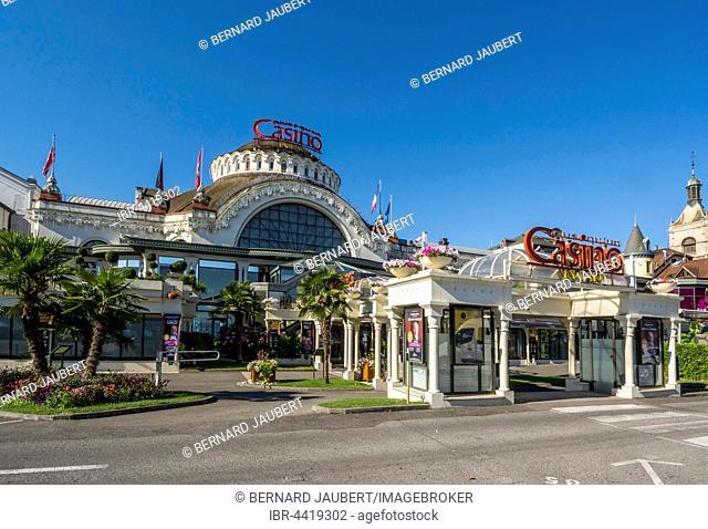 Casino, Evian-les-Bains, Haute-Savoie, France
