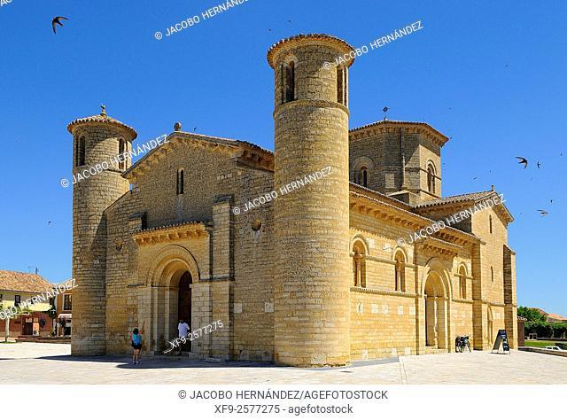 Romanesque church of San Martín.Frómista.Palencia province.Castilla y León.Spain