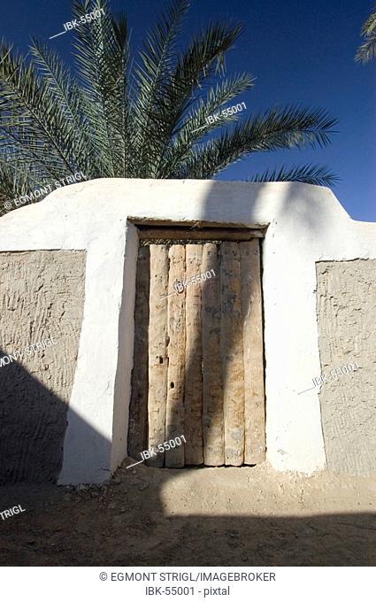 Palm garden at Ghadames, Ghadamis, Libya