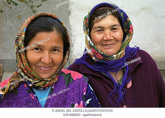 Two Turkoman Women in Kenya Urgench