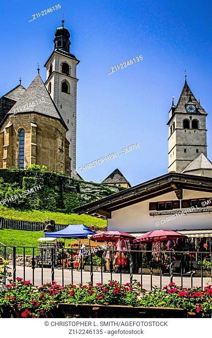 The Parish Church and Church of our Lady in Kitzbuhel Austria
