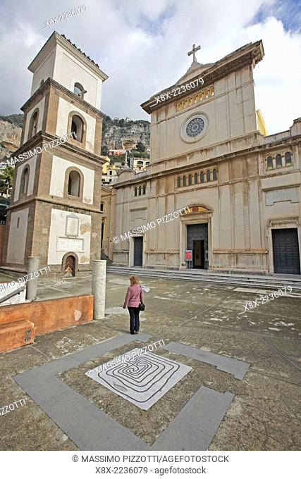 Church of Santa Maria Assunta in Positano, Amalfi coast, Italy