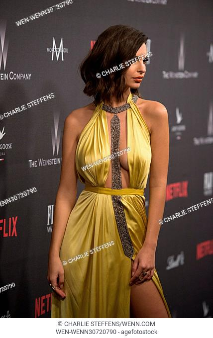 The 2017 Weinstein Company and Netflix Golden Globes After Party on January 8, 2017 at The Beverly Hilton in Beverly Hills