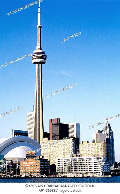 The CN Tower. City of Toronto. Ontario. Canada
