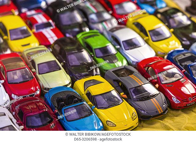 Armenia, Yerevan, Vernissage Market, toy cars