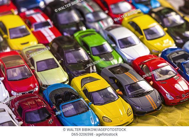 Armenia, Yerevan, Vernissage Market, toy cars