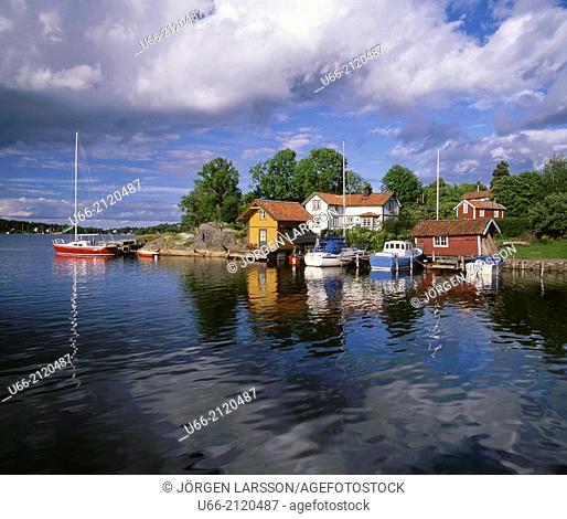 Vaxholm, Uppland, Sweden