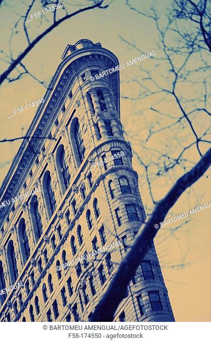 Flatiron Building. New York City. USA