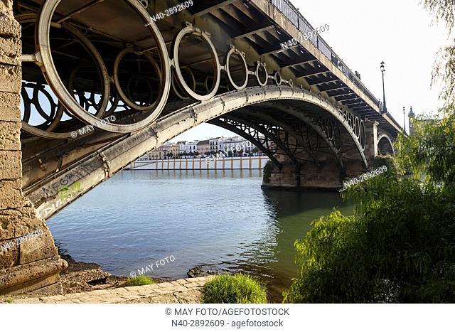 Sevilla, Triana bridge, Spain