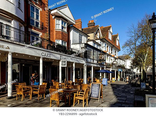 The Pantiles, Royal Tunbridge Wells, Kent, England