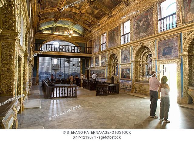 Capela Dourada in Santo Antonio do Convento de Sao Francisco in Recife. Brazil