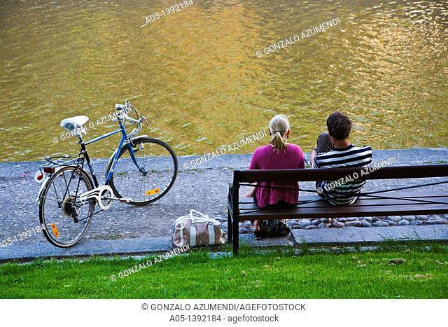 Aura River, Turku, Finland