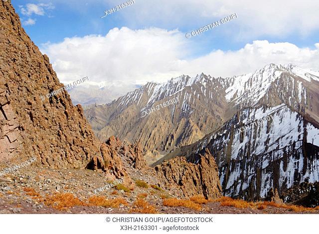 Stokla pass 4900, Hemis National Park, Ladakh region, state of Jammu and Kashmir, India, Asia