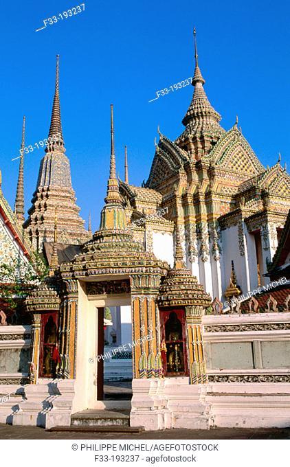 Wat Po. Bangkok. Thailand