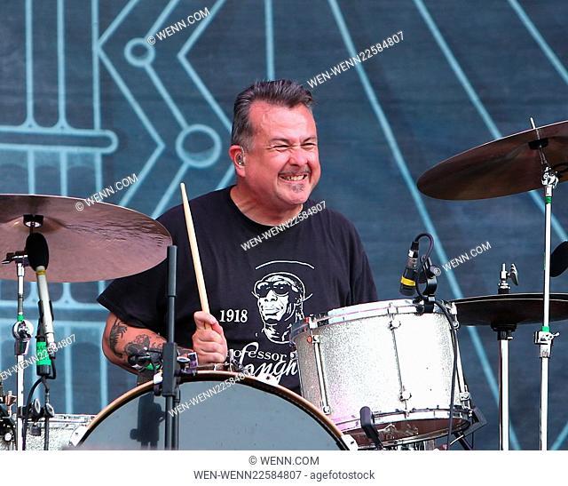 Download Festival - Day 1 - Performances Featuring: Jean-Paul Gaster, Clutch Where: Donnington, United Kingdom When: 12 Jun 2015 Credit: WENN.com