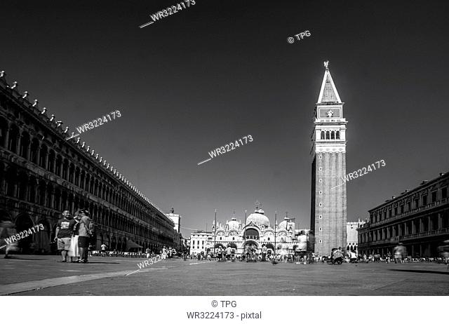 Piazza San Marco, St Marks square, Venice, Italy