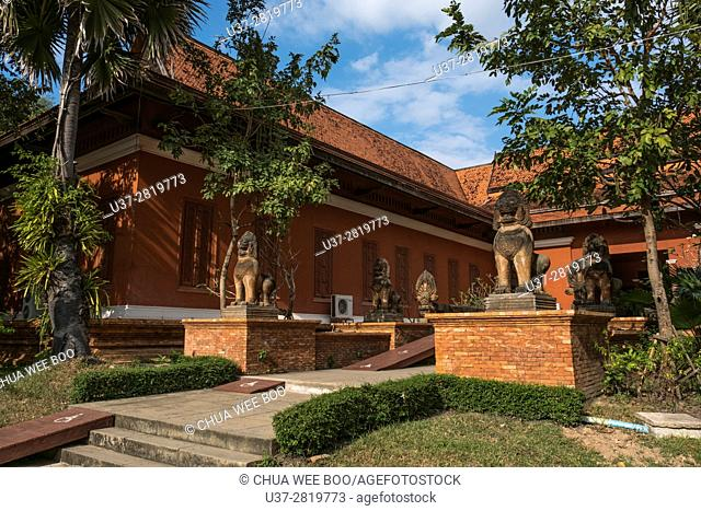 This is Cambodia's museum of cultural history and is the country's leading historical and archaeological museum