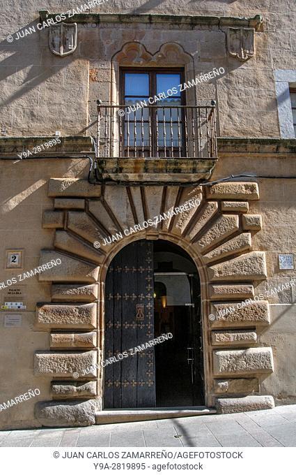 Palacio de la Isla, XVIth century, ancient jewish synagoque Caceres, historical downtown, Unesco World Heritage, Patrimonio de la Humanidad, Caceres