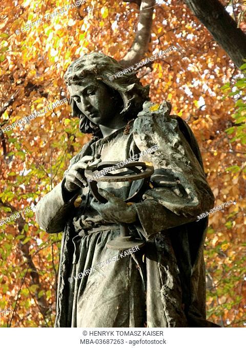 Kopernikus monument in Cracow