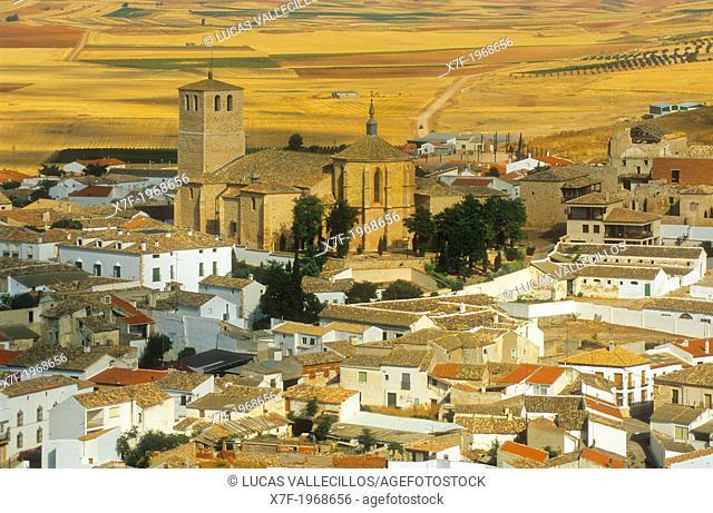 Belmonte,Collegiate church of San Bartolome ,Cuenca province,Castilla La Mancha,the route of Don Quixote, Spain