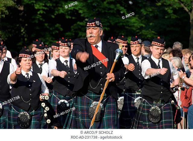 Highland Gathering, Peine, Lower Saxony, Germany