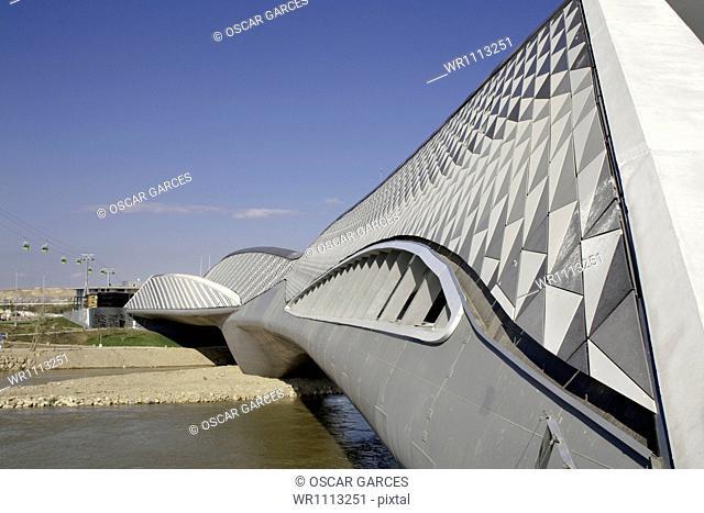 Bridge Pavilion, Saragossa, Aragon, Spain, Western Europe
